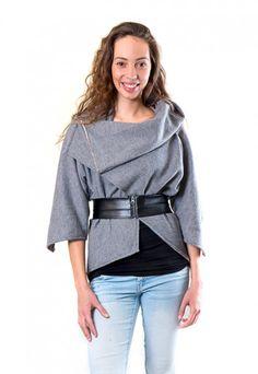 Faux leather zipper belt. dressign.com Indie, Bell Sleeves, Bell Sleeve Top, High Fashion, Ruffle Blouse, Sweatshirt, Belt, Zipper, Tops