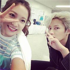 Heechul with Yeri ❤