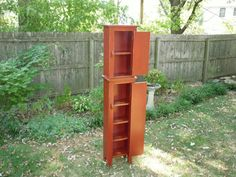 Six Foot Chimney Cabinet  more storage in by BuckCreekFurnishings $345 choice of colors