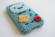 Ravelry: BMO (Adventure Time) iPhone Case Crocheted Parts pattern by Louis Mensinger