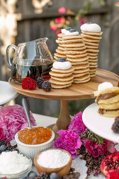Mother's Day Brunch Ideas - Sweet All You Can Eat Pancake Brunch for the family.
