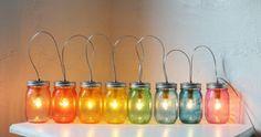 kreativ basteln einmachgläser beleuchtung
