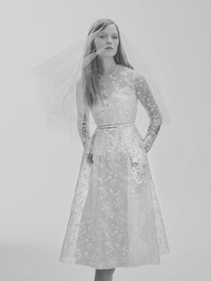 Look 2 | Photography: Courtesy of Elie Saab. Read More:  http://www.insideweddings.com/news/fashion/contemporary-styles-from-elie-saab-bridal-spring-2017/2962/