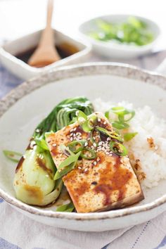Japanese Tofu Steak