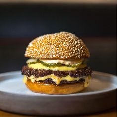 nytimes's photo: The beef burgers at @salvationburger come in 2 forms, highbrow and lowbrow.