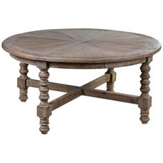 Uttermost Samuelle Reclaimed Wood Coffee Table