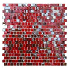 Red,Glass Tile: Free Shipping on orders over $45! Whether your job is big or small, we've got the tile you need to get it done from Overstock.com Your Online Home Improvement Store! Get 5% in rewards with Club O!