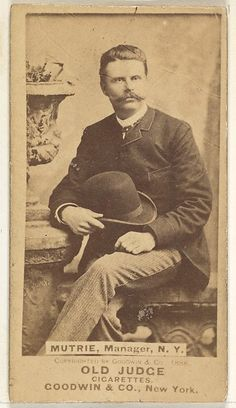 1888___ James J. Mutrie. Goodwin & Company. MET
