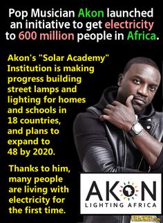 Akon: People Who Are Actively Making The World Less Terrible
