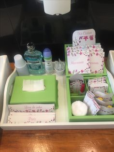 Kit toalete feminino