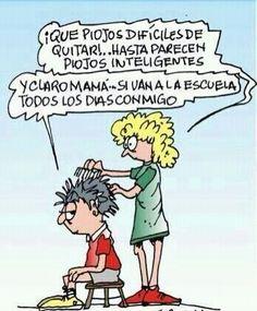 """Piojos - <a class=""""pintag"""" href=""""/explore/Humor/"""" title=""""#Humor explore Pinterest"""">#Humor</a>"""