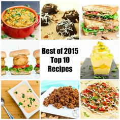 Check out the Top 10 Recipe Posts on Vegetarian Gastronomy in 2015!