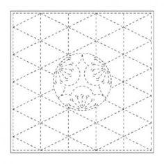 UME LUN Sashiko Fukin japonais coton kit échantillonneur de