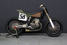 Custom Yamaha WR400F tracker by Pista Design
