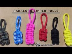 A paracord zipper pull is a wonderful project because it uses up the scrap paracord you might have left over from a bigger project. It is also quick and easy to do. I LOVE them, as it helps my ki… Paracord Zipper Pull, Zipper Repair, Project Steps, Paracord Projects, Macrame Knots, Paracord Bracelets, Zipper Pulls, Girl Scouts, Step By Step Instructions