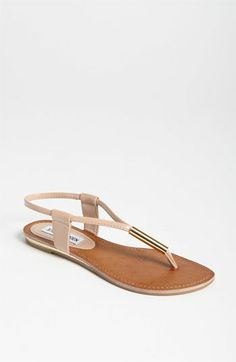I saw these on someone the other day.  She was wearing them with a simple summer dress.  So cute!... even cuter *on* than in the photo.  Steve Madden Hamil Sandal | Nordstrom