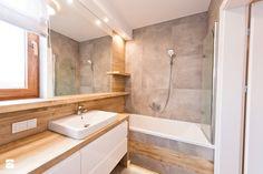 łazienka z ciemna cegłą - Łazienka, styl nowoczesny - zdjęcie od All Design Agnieszka Lorenc