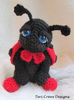 Cute Ladybug Crochet Pattern - via @Craftsy