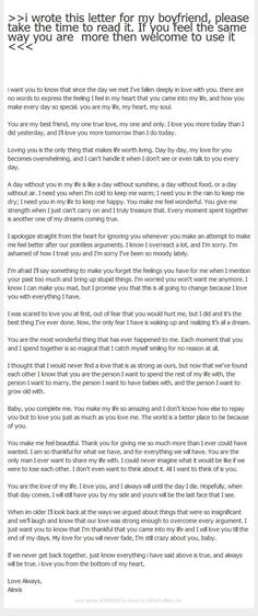 love letters to your boyfriend ~ love quotes for him & love & love memes & love aesthetic & love handle workout & love wallpaper & love quotes for boyfriend & love letters to your boyfriend Letter To My Boyfriend, Diy Gifts For Boyfriend, Boyfriend Ideas, Dear Boyfriend, Boyfriend Girlfriend, Bae Quotes, Qoutes, Love You More, Just For You