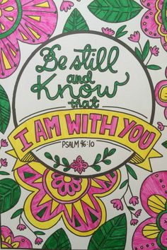 Be still and know that I am God | Scripture verses | Scripture Quotes | Rest in God
