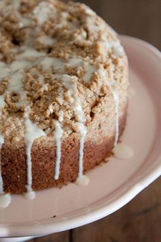 Make this Saigon Cinnamon Streusel Coffee Cake and serve it with a cup of coffee and call it a day!