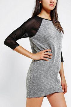 Urban Outfitters - Silence + Noise Jessa Sheer-Sleeve Dress