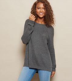 From basic perfection to pretty little details, we've got your new fave tees, tube tops, bodysuits, and more must-have tops! Getting Cozy, Outfit Goals, Pulls, Fitness Models, Tunic Tops, Plaid, Pullover, Long Sleeve, Sleeves