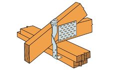 Learn about different way how to attach rafters and trusses to top plate of your shed. We show 5 options for each type of roofing framing. Roof Joist, Roof Trusses, Building Code, Building A Shed, Hurricane Ties, Ridge Beam, Lean To Shed, Shed Roof, Roof Plan