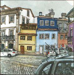 Braga, Portugal postalguarelas.blogspot.pt/2017/01/cinza-nos-ceus-cores-n...