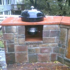 Weber Kettle Grill Outdoor Kitchen