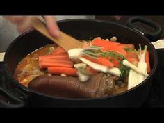 Laci bácsi konyhája Fejtett csülkös bableves www. Beef, Make It Yourself, Recipes, Youtube, Food, Meat, Rezepte, Essen, Ox
