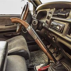 Double Barrel Gear Shift...