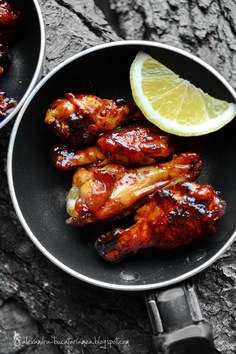 Chicken Wings - with lemon and honey