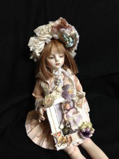 doll made by Noriko Fukunaga