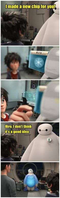 Big Hero 6 and Frozen Crossover