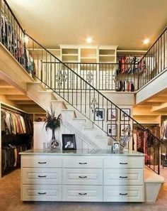 Two story closet!!!