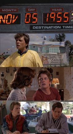 Back To The Future. I love his facial expressions!