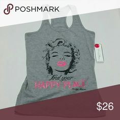 Selling this Marilyn Monroe Tank Large on Poshmark! My username is: pantieposh…