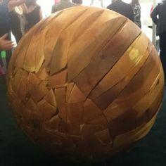 """Shattered Sphere"" by Brett Comber at the SF ArtMkt."