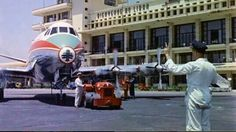 Beirut International Airport In 1955 . Beirut, Middle East Airlines, Douglas Aircraft, Baalbek, International Airport, Old Pictures, Constellations, Transportation, Aviation