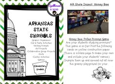 The arkansas state symbols quiz see if you know the state beverage arkansas state symbols unit elementary grades publicscrutiny Images