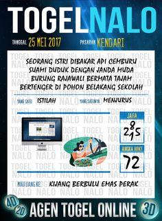 Pakong JP 3D Togel Wap Online TogelNalo Kendari 25 Mei 2017