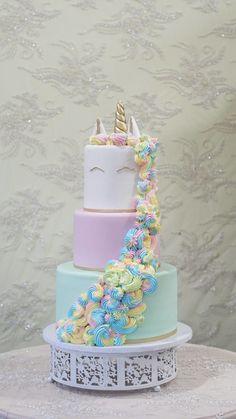 Unicorn Quince Cake