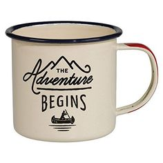 Gentlemen's Hardware The Adventure Begins Mug for this campfire hot cocoa chocolate recipe
