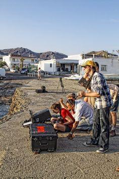 Filming in La Isleta (Cabo De Gata) -RODANDO (4ª TOMA) de Lola Diaz Somodevilla