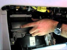 Cabin air filter replacement- Toyota Corolla