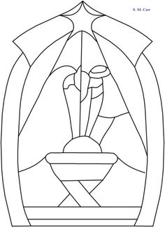 Stained Glass Window Template Stain Glass Ideas Stained Glass