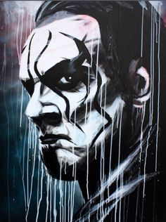 Sting - Acrylic and spray on x canvas Wrestling Posters, Wrestling Wwe, Wwe Wallpapers, Sports Wallpapers, Iphone Wallpapers, Wwf Logo, Sting Wcw, Wwe Raw And Smackdown, Wrestlemania 29