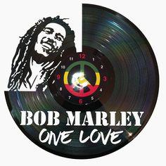 Ceas disc vinil - BOB MARLEY