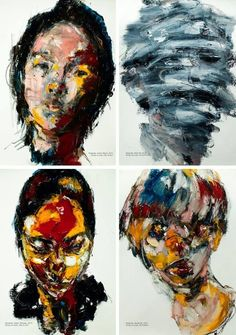 abstract portraits - Google Search
